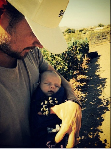 Fergie & Josh Duhamel Take Axl to the Ferguson Crest Winery