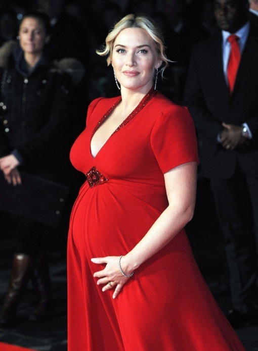 Kate Winslet's Red Radiant Bump