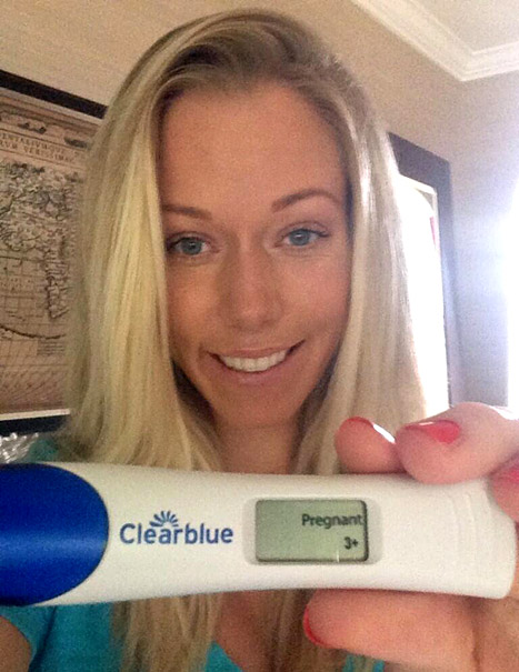Kendra Wilkinson Confirms Pregnancy