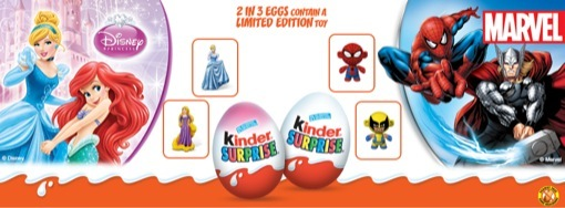 Kinder Surprise Princesses & Hero #KinderMom