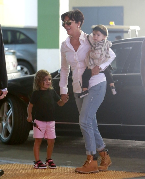 Grandma Time! Kris Jenner Takes Mason and Penelope Shopping