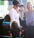 Kris Jenner Takes Her Grandchilden To The Mall
