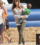 Kristin Cavallari Takes Her Son To Mr. Bones Pumpkin Patch