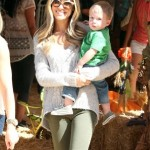 Kristin Cavallari: Pumpkin Patch Day With Camden