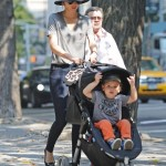 Miranda Kerr: Strollin' With Flynn in the City