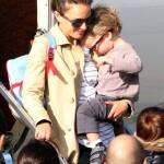 Natalie Portman & Aleph: Parisian Arrival