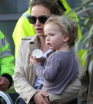 Natalie Portman & Aleph Land In Paris