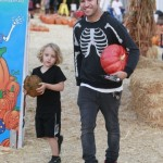 Pete Wentz & Bronx Bond Over Pumpkins