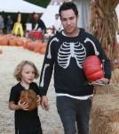 Pete Wentz & Bronx Visit Mr. Bones Pumpkin Patch
