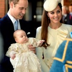 Prince William & Kate Middleton Arrive With Prince George For Royal Christening