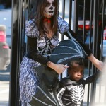 Sandra Bullock & Louis: Skeleton Pair