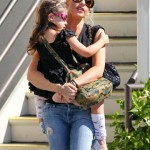 Sarah Michelle Gellar Picks Up Her Ballerina From Class