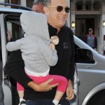 Grandpa Time! Tom Hanks Takes Granddaughter Olivia to London