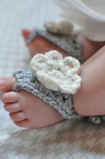 DIY Baby Shower Gifts – Barefoot Baby Sandals