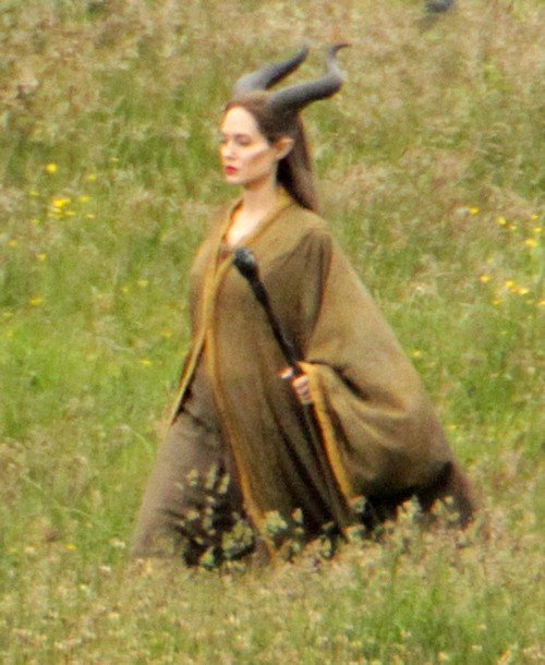 "Angelina Jolie Films ""Maleficent"""