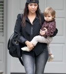Kourtney Kardashian Takes Penelope To A Baby Class