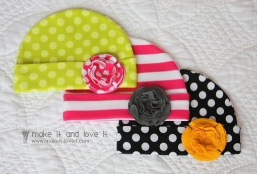 DIY Baby Shower Gifts – Baby Hat