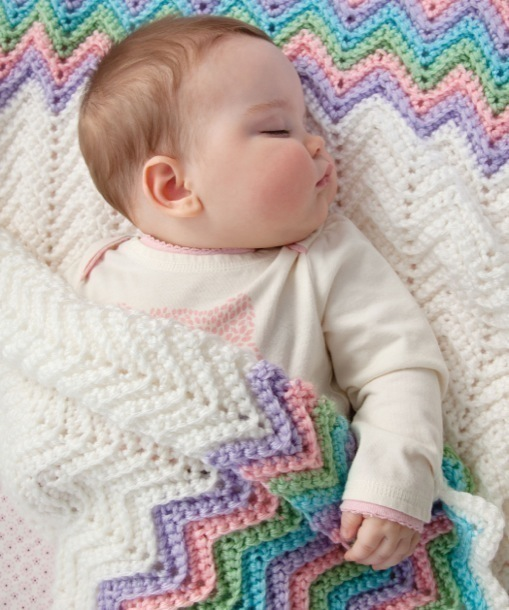 DIY Baby Shower Gifts - Knit Blankets