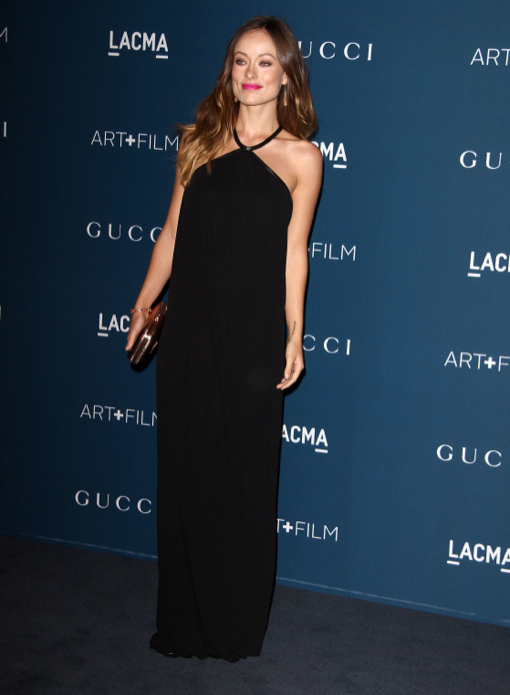 Olivia Wilde Debuts Baby Bump at the LACMA 2013 Art + Film Gala