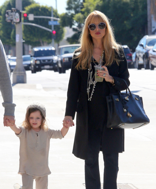 Pregnant Rachel Zoe Shopping With Her Family In Beverly ...