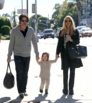 Pregnant Rachel Zoe Shopping With Her Family In Beverly Hills