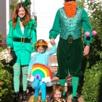 Alyson Hannigan & Family: Irish Halloween