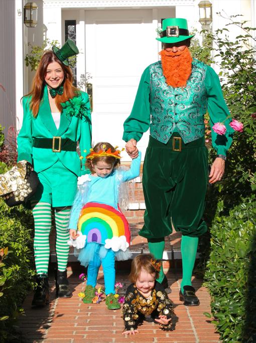 Alyson Hannigan Family Irish Halloween Celeb Baby Laundry