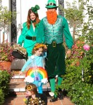 Alyson Hannigan & Family Go Trick-Or-Treating