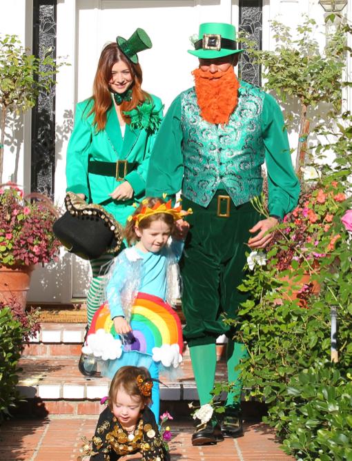 Alyson Hannigan & Family: Irish Halloween