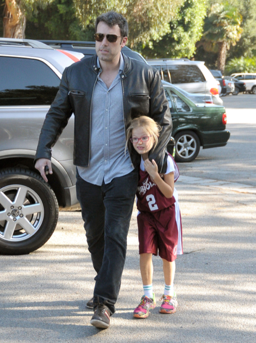 Ben Affleck: Sunday Daddy Duties