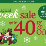 Save With the Disney Store's Magical Week #BlackFridayDeals