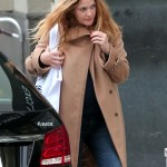 Drew Barrymore Keeps Her Bump Hidden