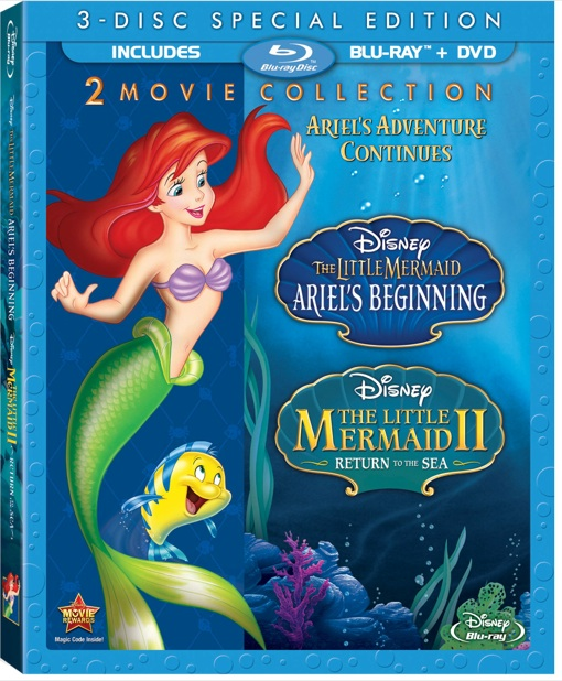 The Little Mermaid II and Ariel's Beginning 2-Movie Collection #HolidayGiftGuide