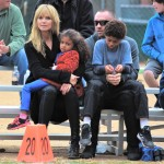 Heidi Klum: Saturday Sports Day With Her Kids