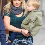 Hilary Duff Enjoys Breakfast With Her Family