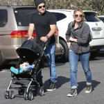 Hilary Duff & Mike Comrie Enjoy a Day With Luca  at the Farmers Market