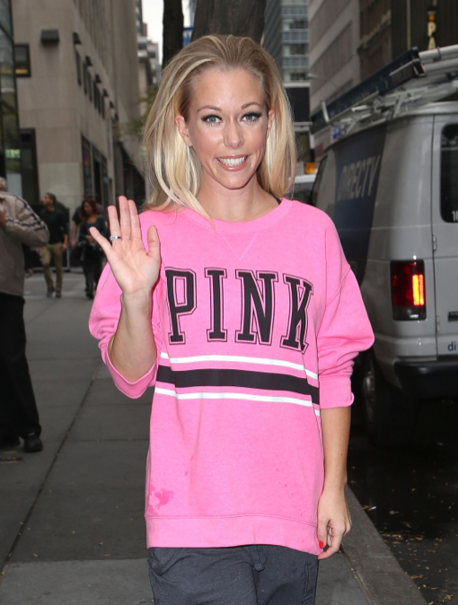 "Pregnant Kendra Wilkinson Stops By The ""Today"" Show"