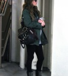 Pregnant Megan Fox Goes In For A Checkup
