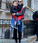 Miranda Kerr Leaving Her NYC Apartment With Flynn