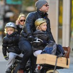Liev Schreiber & Naomi Watts: Family School Run