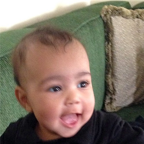 Kim Kardashian Reveals New Photos Of Daughter North West