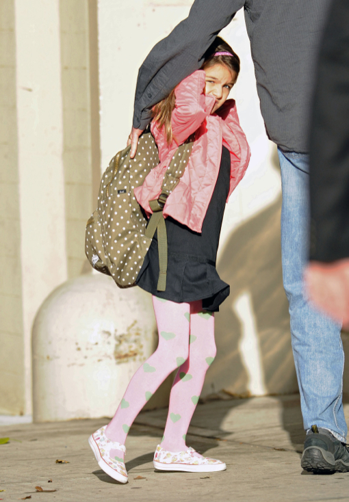 Suri Cruise Heads Back To School