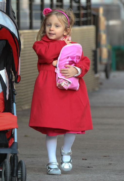 Jason Hoppy Amp Daughter Bryn Out In New York Celeb Baby