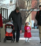 Jason Hoppy & Daughter Bryn Out In New York