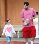 Adam Sandler Gets Breakfast With Sunny