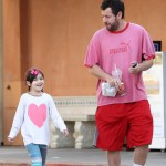 Adam Sandler Catches Breakfast With Sunny
