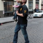 Eric Johnson Takes His Little Girl Out For a Day in the Big Apple