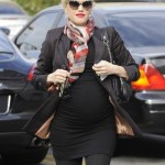 Gwen Stefani Looks Stylish as Always in Chic Maternity Outfit