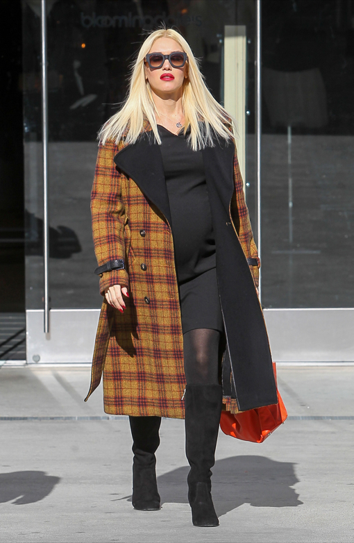 Gwen Stefani Does Some Bumping Holiday Shopping