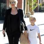 Gwen Stefani Takes Kingston for a Checkup